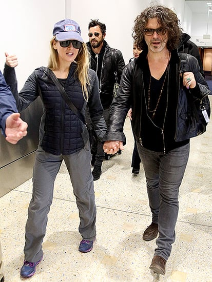 Fancy Meeting You Here! René Zellweger and Justin Theroux Land in Sydney Aboard the Same Flight