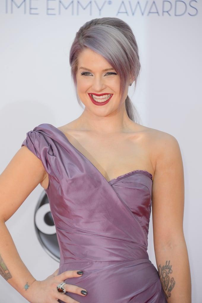 Kelly Osbourne arrived at the 2012 Emmys.