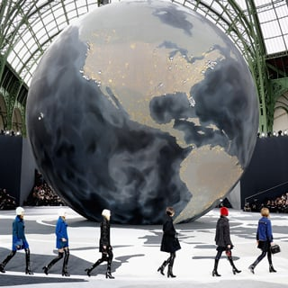 2013 Autumn Winter Paris Fashion Week: Chanel Runway