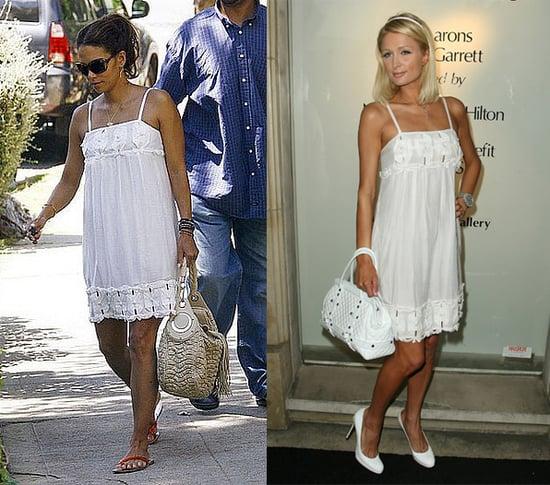 Who Wore It Better? White Yoana Baraschi Origami Sundress