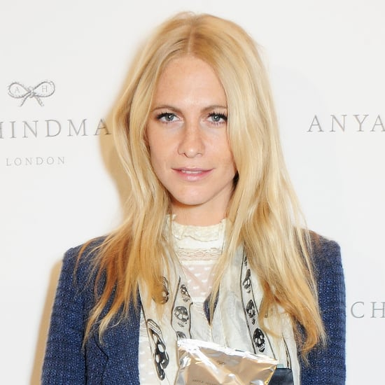 Celebrity Beauty at London Fashion Week Spring 2014