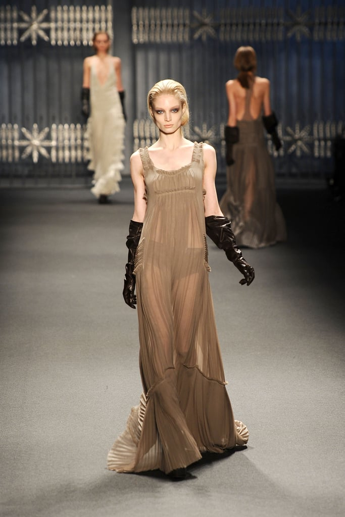2011 Fall New York Fashion Week: Vera Wang