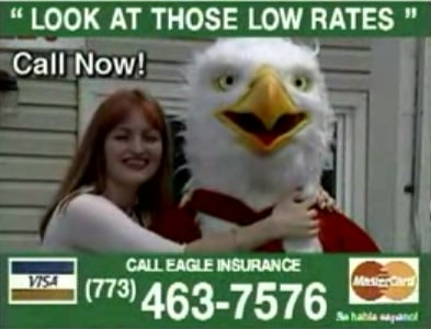 Eagle Insurance Low Budget Commercial 2008-02-12 16:00:00