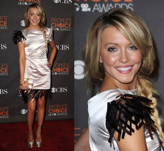 Photos of Katie Cassidy in Talbot Runhof at the 2010 People's Choice Awards