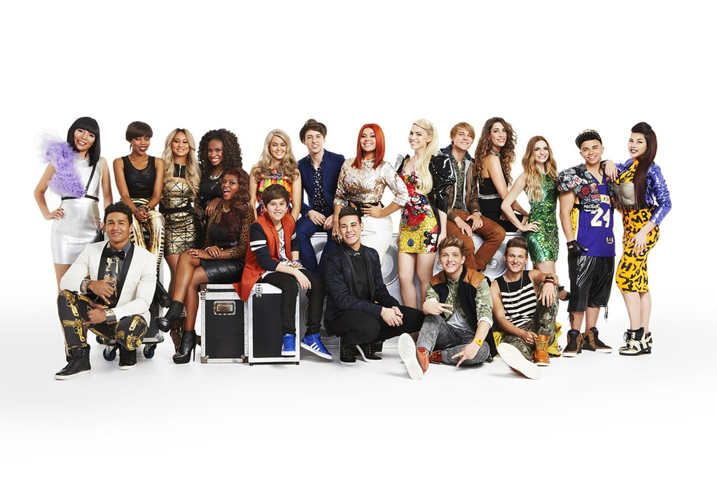 The top 12 acts on The X Factor 2013.
