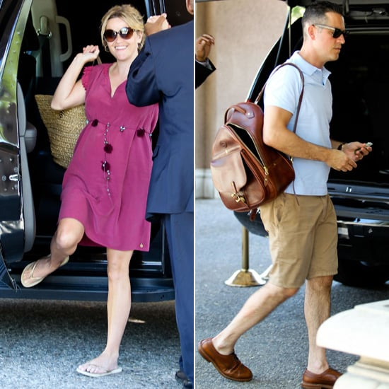 Pregnant Reese Witherspoon Returns to LA For a Night Out With Jim Toth