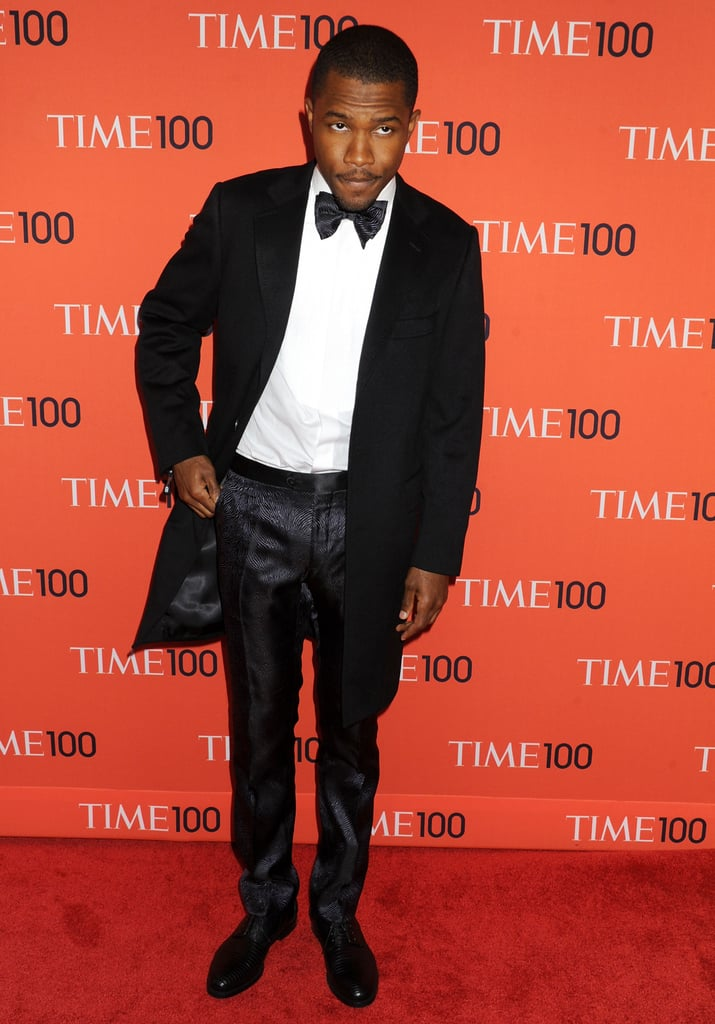 Frank Ocean wore Lanvin at the Time 100 Gala in New York.