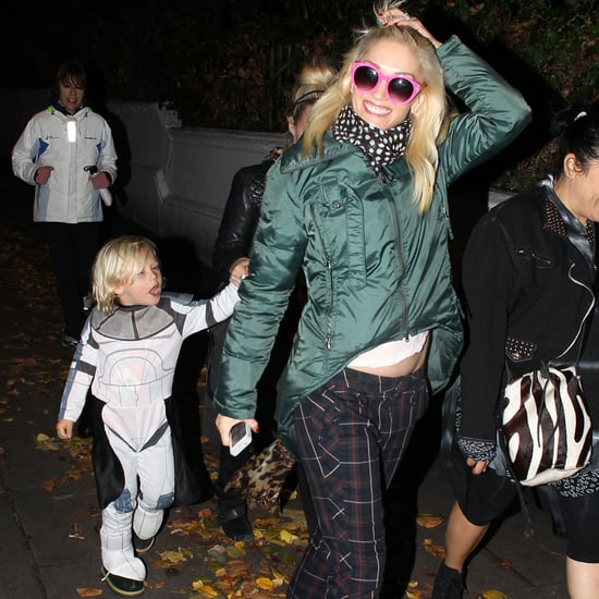Gwen Stefani Trick-or-Treating With Zuma Rossdale | Pictures