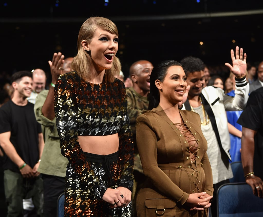 Much like the rest of us, Taylor was shocked by Kanye West's announcement that he'd be running for president during his VMAs acceptance speech in August 2015.