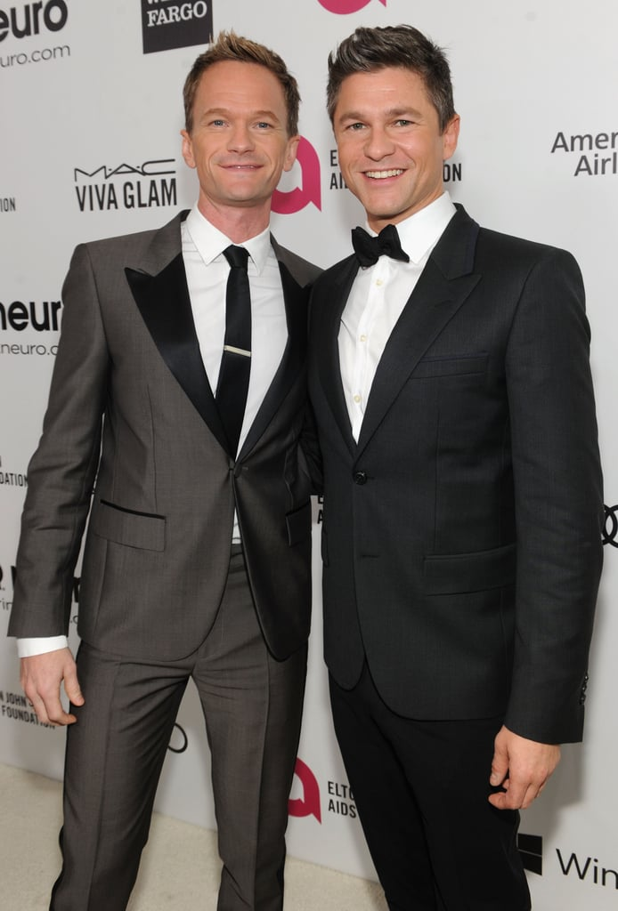 Neil Patrick Harris and his fiancé, David Burtka, looked adorable.