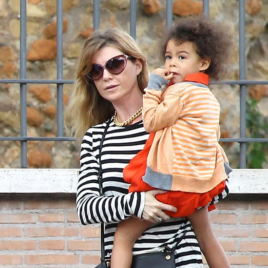 Ellen Pompeo on a Family Vacation in Rome | Pictures