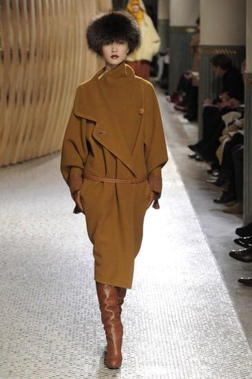 Fall 2011 Paris Fashion Week: Hermes