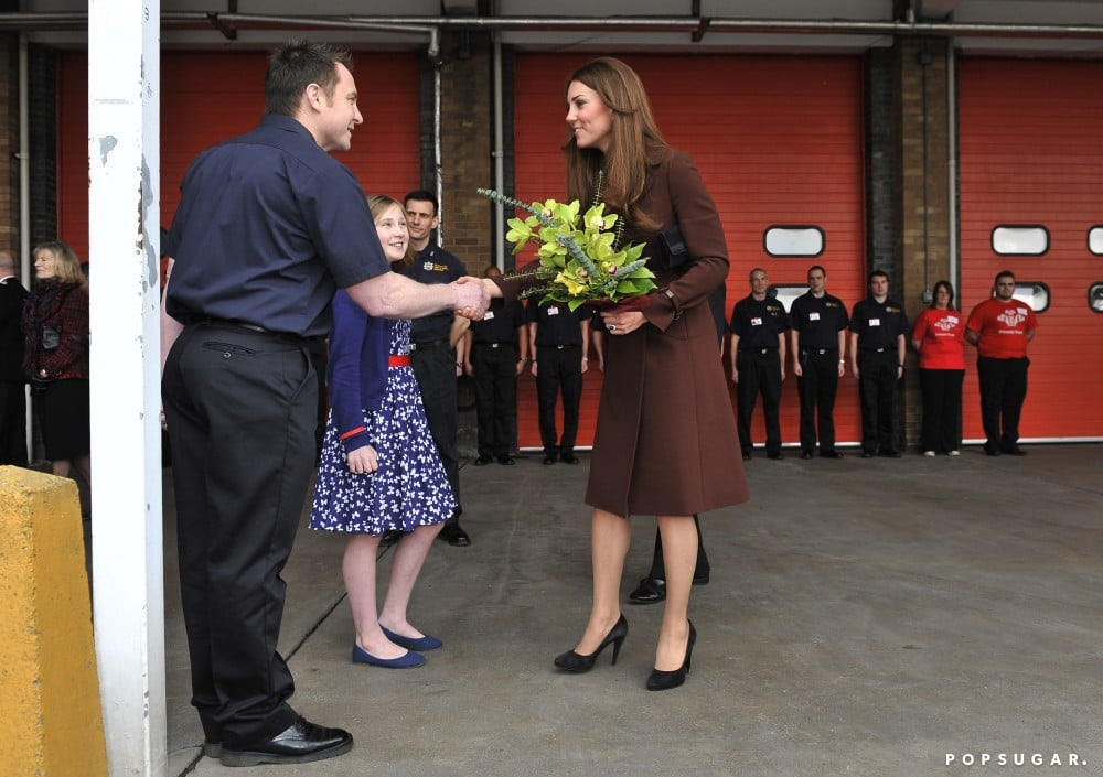 Kate Middleton Bundles Up Her Maybe Baby Girl Bump in Grimsby