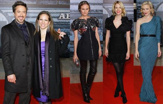 Photos of Diane Kruger, Rachel McAdams, January Jones at Sherlock Holmes Red Carpet in Berlin 2010-01-13 19:00:22