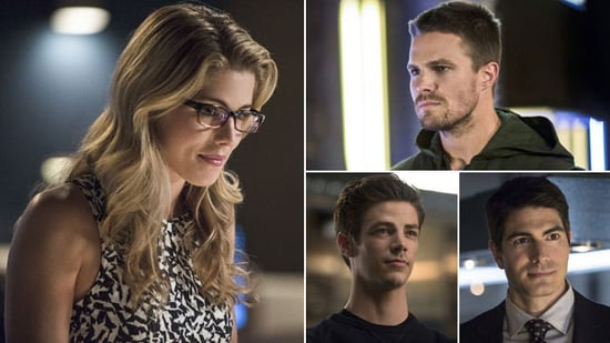 Which Superhero Should Felicity Choose? — 'Arrow's Emily Bett Rickards Answers!