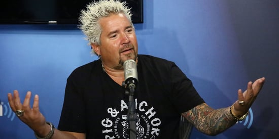 Guy Fieri Looks Really Alarming With Different Hair