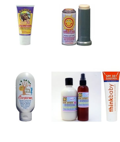 Safe Sunscreens for Babies