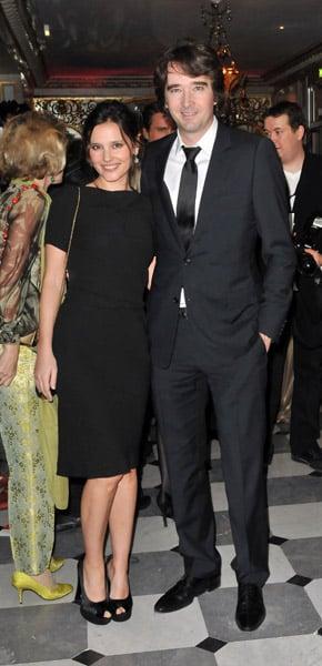 Virginie Ledoyen and Antoine Arnault