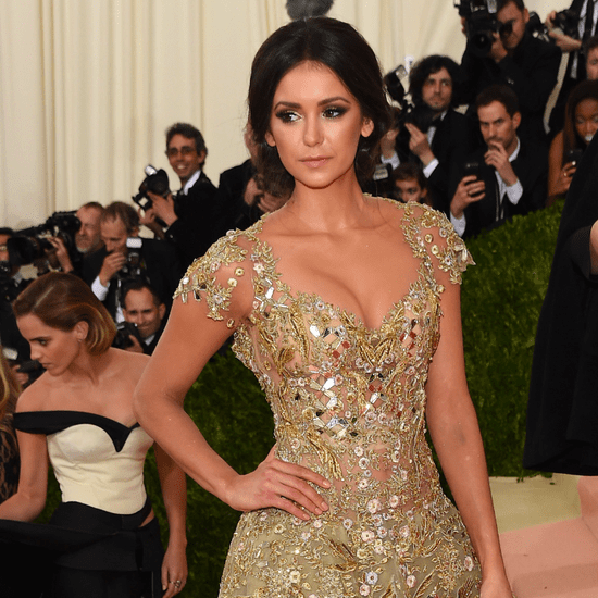 Nina Dobrev's Dress at Met Gala 2016