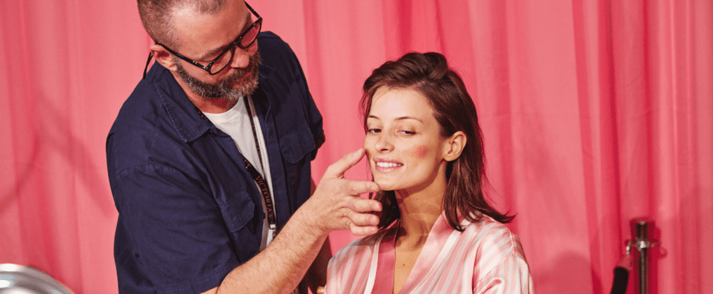 Watch a Victoria's Secret Model Go From Barefaced to Dolled Up