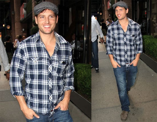 Pictures of Peter Facinelli Walking Around NYC