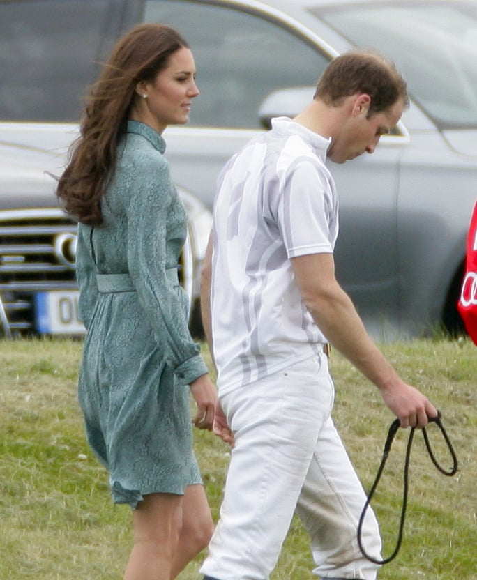 The Royal Couple at the Audi Polo Challenge