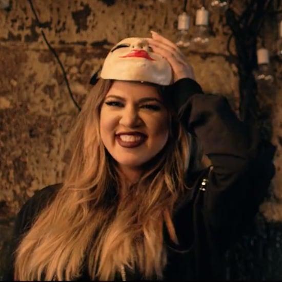 """Khloe Kardashian in French Montana's """"Don't Panic"""" Video"""