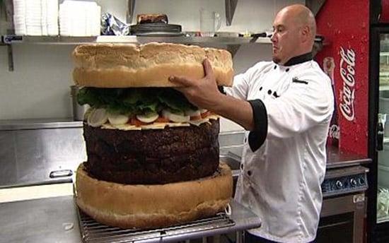 World's Largest Burger, Full English Breakfast, Tamale