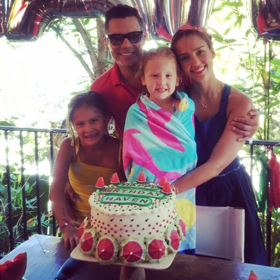 Jessica Alba Daughter Birthday Party August 2016