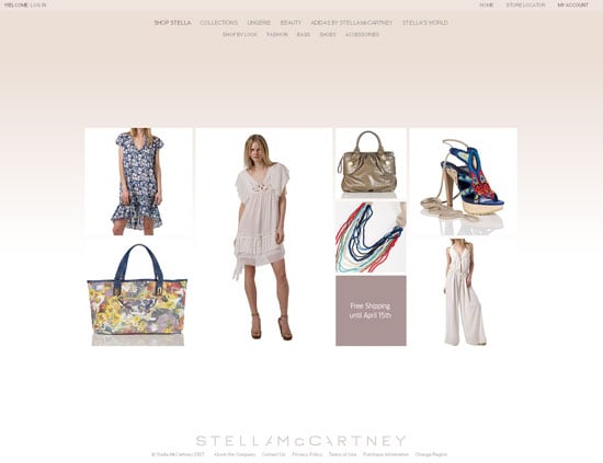 Fab Site: StellaMcCartney.com