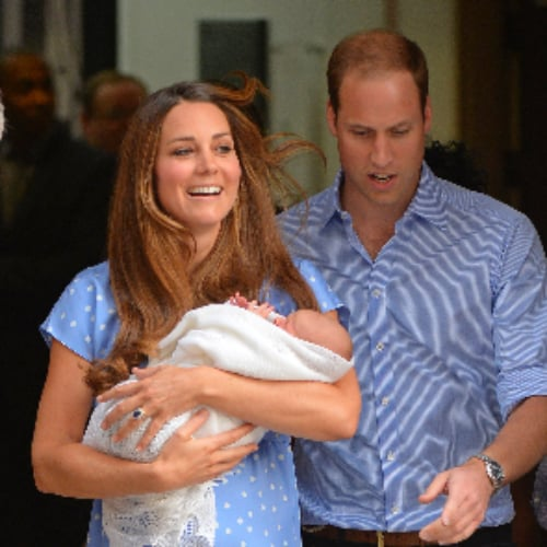 Kate Middleton's Look Leaving the Hospital