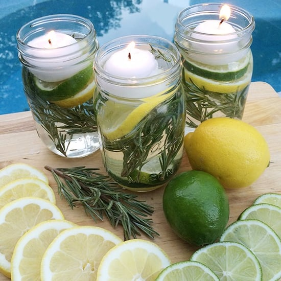 All-Natural Mosquito Repelling Candle