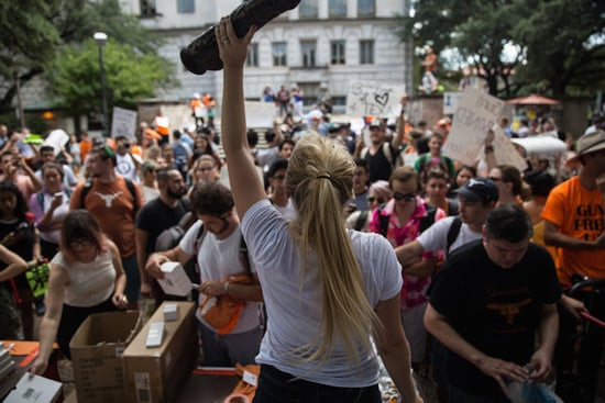 University of Texas Students Protest New Gun Law With Dildos