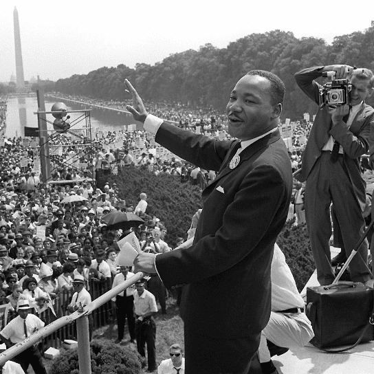 Listen to Martin Luther King Jr. Speech