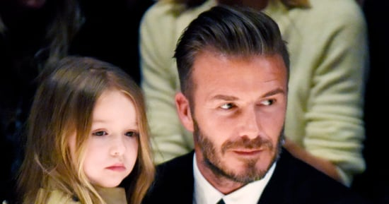 David Beckham Carries Daughter Harper on His Back During Family Hike