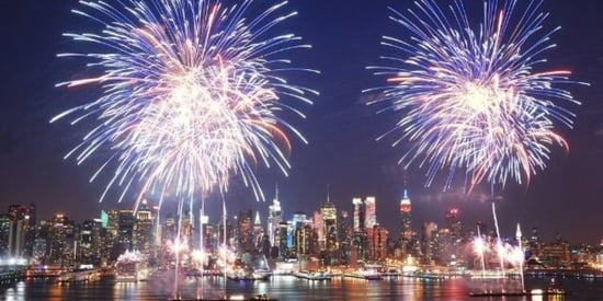 The Best Places to See Fireworks on the 4th of July
