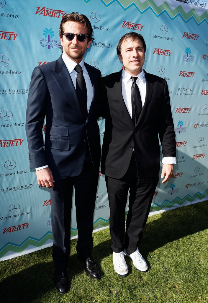 Bradley Cooper posed with David O. Russell.