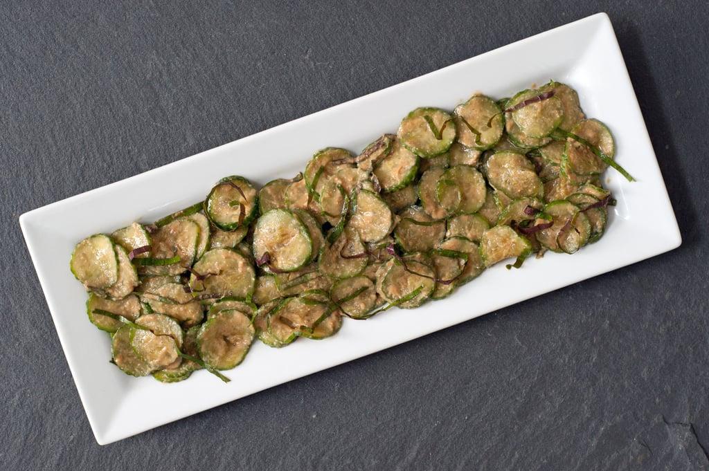 Miso Sesame Cucumber Salad