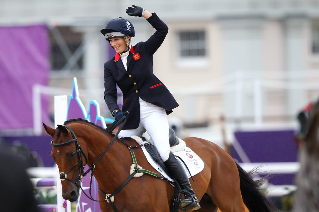Eventing Team Silver Medal