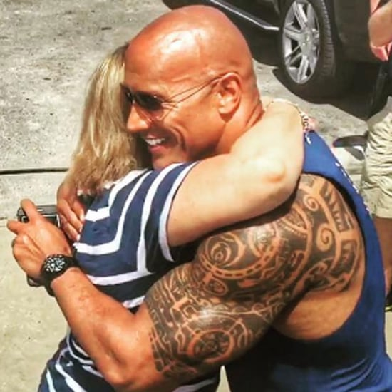 Dwayne Johnson Meets Fan With Special Needs Instagram 2016