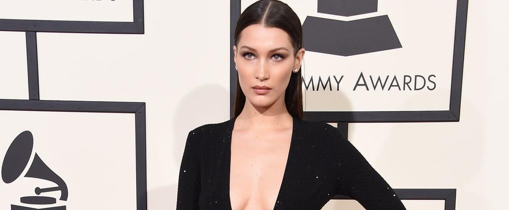 "Bella Hadid's Sexy Grammys Dress Will Make You Say, ""Holy Smokes"""