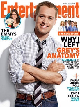 TR Knight's Comments to Entertainment Weekly About Leaving Grey's Anatomy