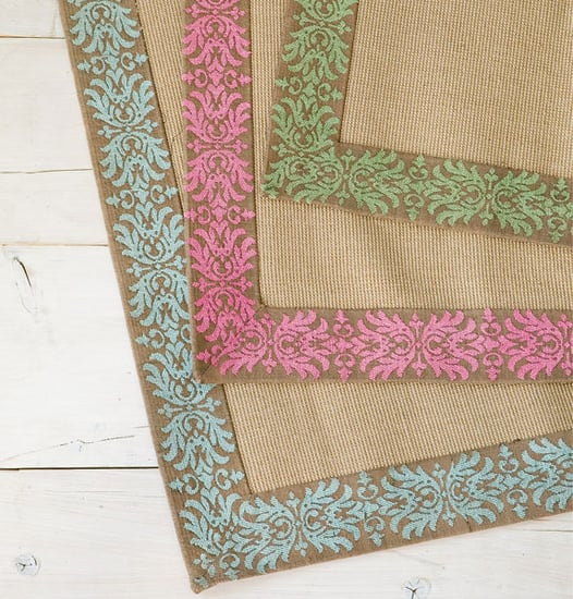 Steal of the Day: Wisteria Vine Bordered Jute Rugs