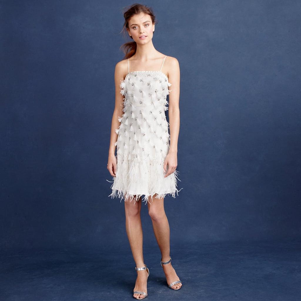 J. Crew Feather Flapper Dress ($1,200)