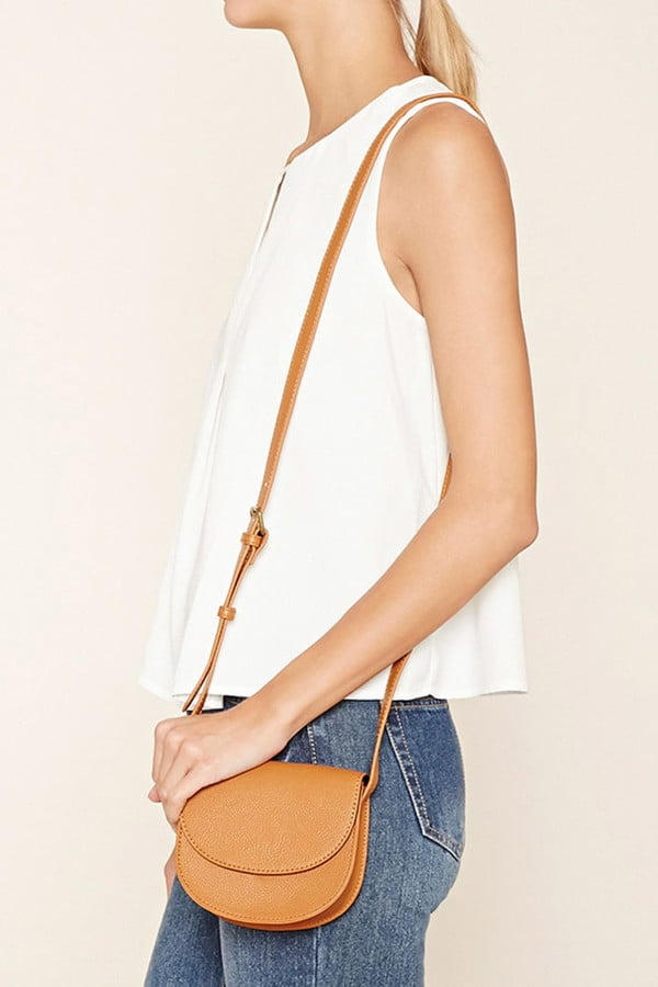 Forever 21 Faux Leather Crossbody ($11)