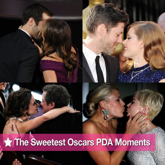 Slideshow of the Sweetest Celebrity PDA Moments at the 2011 Oscars