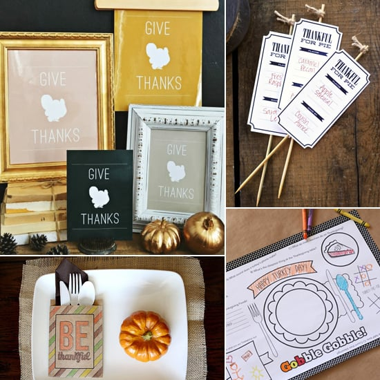 16 Free Thanksgiving Printables to Style Up Your Celebration