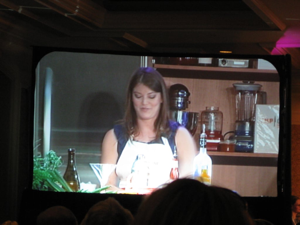 Gail Simmons and Tom Colicchio at the 2009 Food & Wine Classic