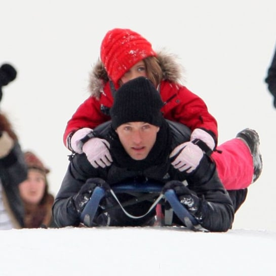 Celebrity Kids Playing in the Snow | Pictures