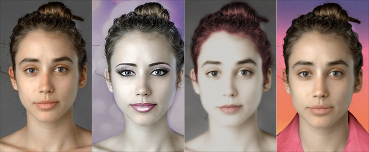 One Woman, 25+ Photoshopped Versions of Global Beauty
